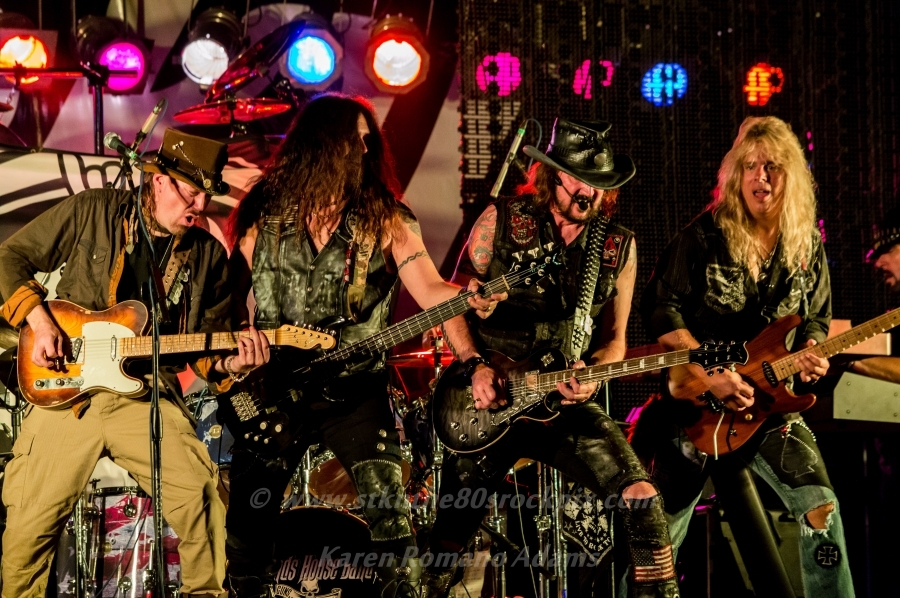 Ron keel of badlands house band national rock review for House music bands