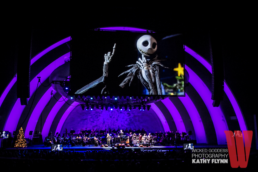 the nightmare before christmas with danny elfman at the hollywood bowl photo by kathy flynn - Danny Elfman Nightmare Before Christmas Overture