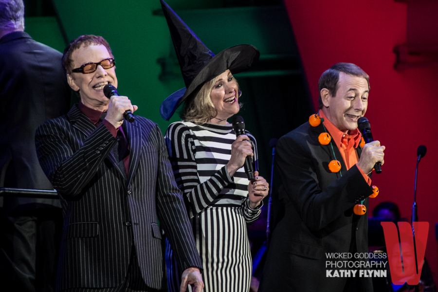 danny elfman catherine ohara and paul reubens at the hollywood bowl - Danny Elfman Nightmare Before Christmas Overture