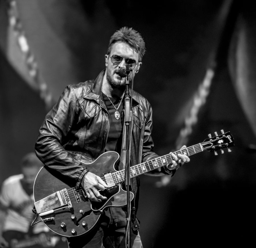 Eric Church At Little Caesars Arena In Detroit Mi