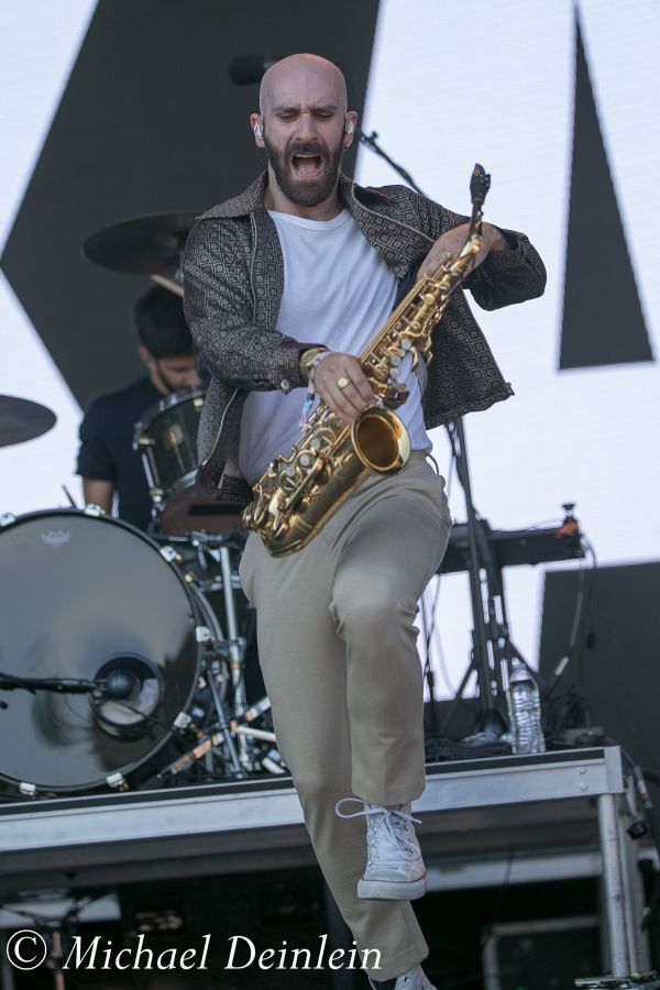 Forecastle Festival (X Ambassadors) at the Waterfront In Louisville, KY | Photo by Michael Deinlein
