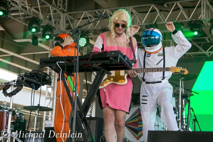 Forecastle Festival (STRFKR) at the Waterfront In Louisville, KY | Photo by Michael Deinlein