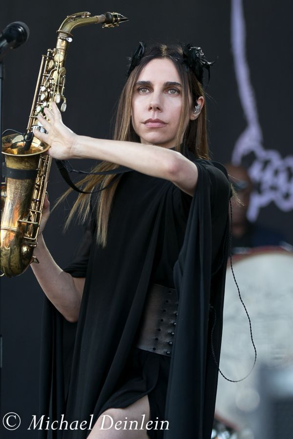 Forecastle Festival (PJ Harvey) at the Waterfront In Louisville, KY | Photo by Michael Deinlein