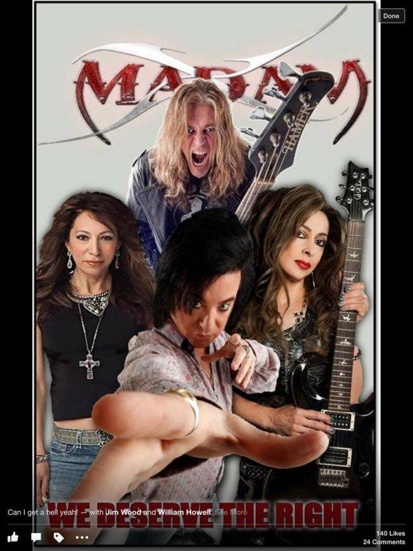 Band Spotlight Madam X National Rock Review