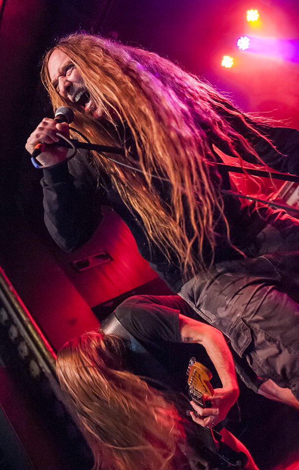 Cannibal Corpse at St. Andrew's Hall in Detroit, MI on 21 ...