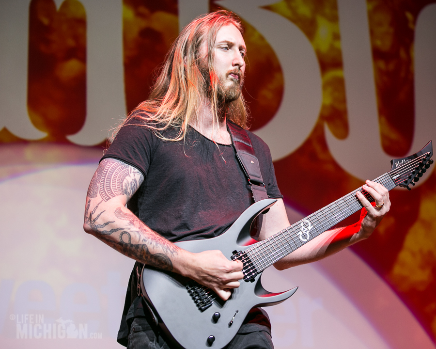 ola englund of the haunted national rock review. Black Bedroom Furniture Sets. Home Design Ideas