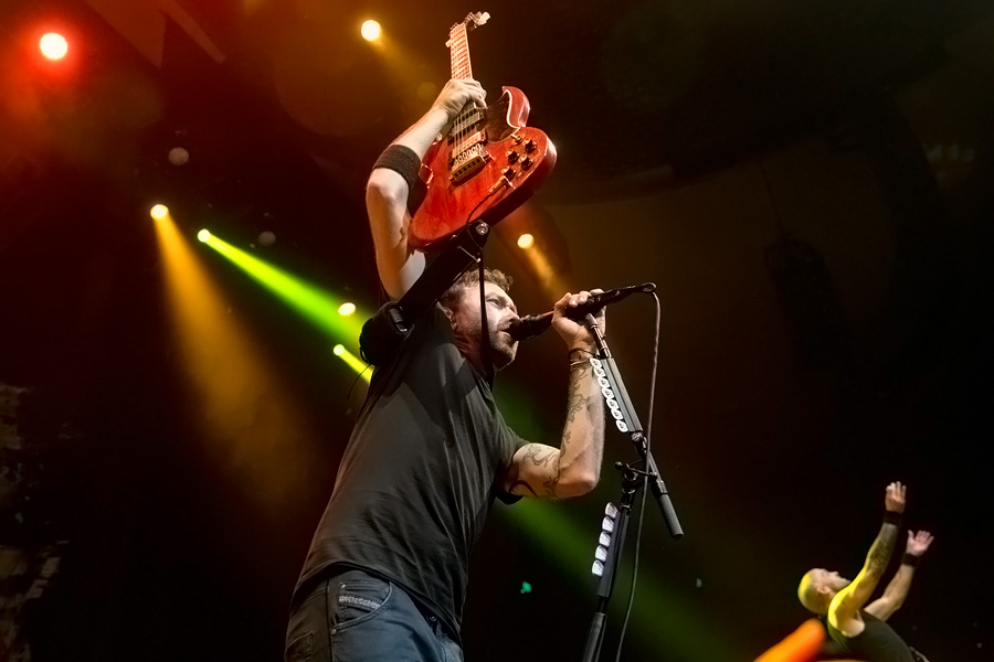 Rise Against at The Masonic in San Francisco, CA on 11-Aug ...