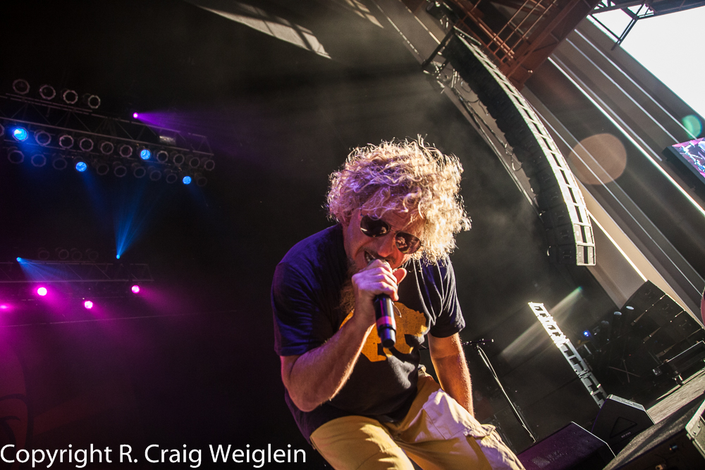 sammy hagar and the circle at rose music center in huber heights oh on 20 june 2015 national. Black Bedroom Furniture Sets. Home Design Ideas