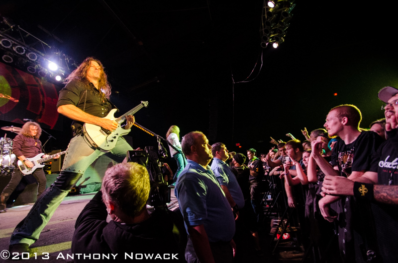 Concert Imagery: Megadeth at The Orbit Room 11-26-2013 - National ...