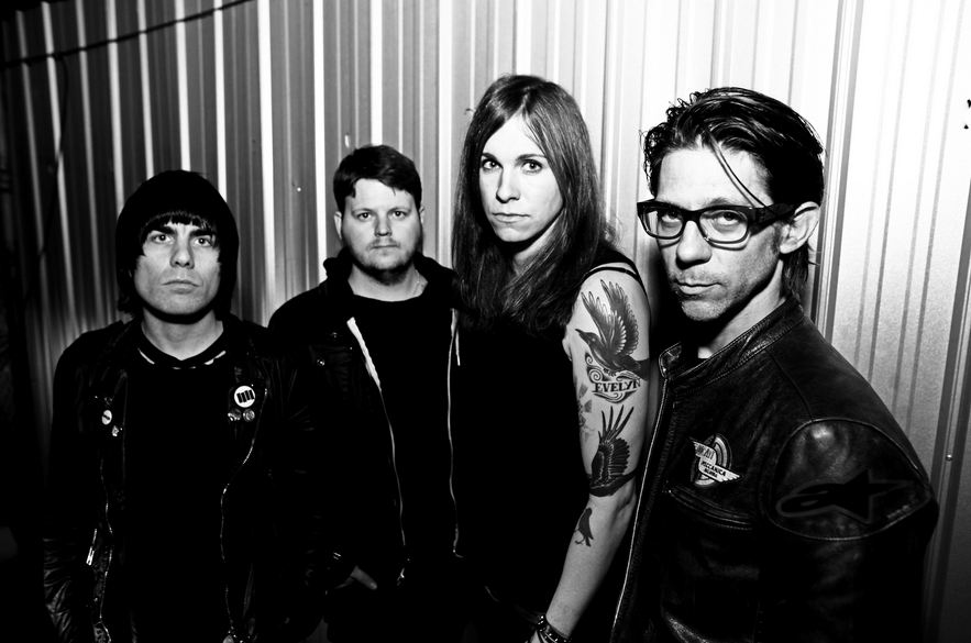 Against Me Band Photo 2014