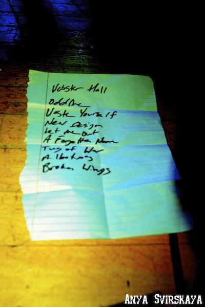 Lullwater Setlist