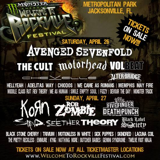 WelcomeToRockville-ConcertFlyer