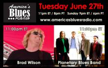 "Planetary Blues Band Interviewed on ""America's Blues Radio"""
