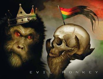 FeistyPirhannas-EvilMonkey-AlbumArtwork