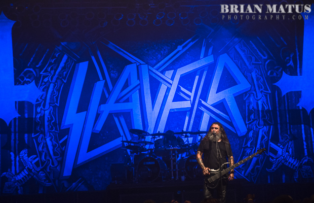 Slayer performing at The Paramount in Huntington, NY on 16-June-2015