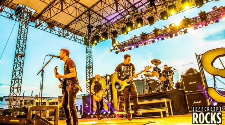 Rise Against at The Stone Pony Summer Stage in Asbury Park, NJ on 26-July-2015