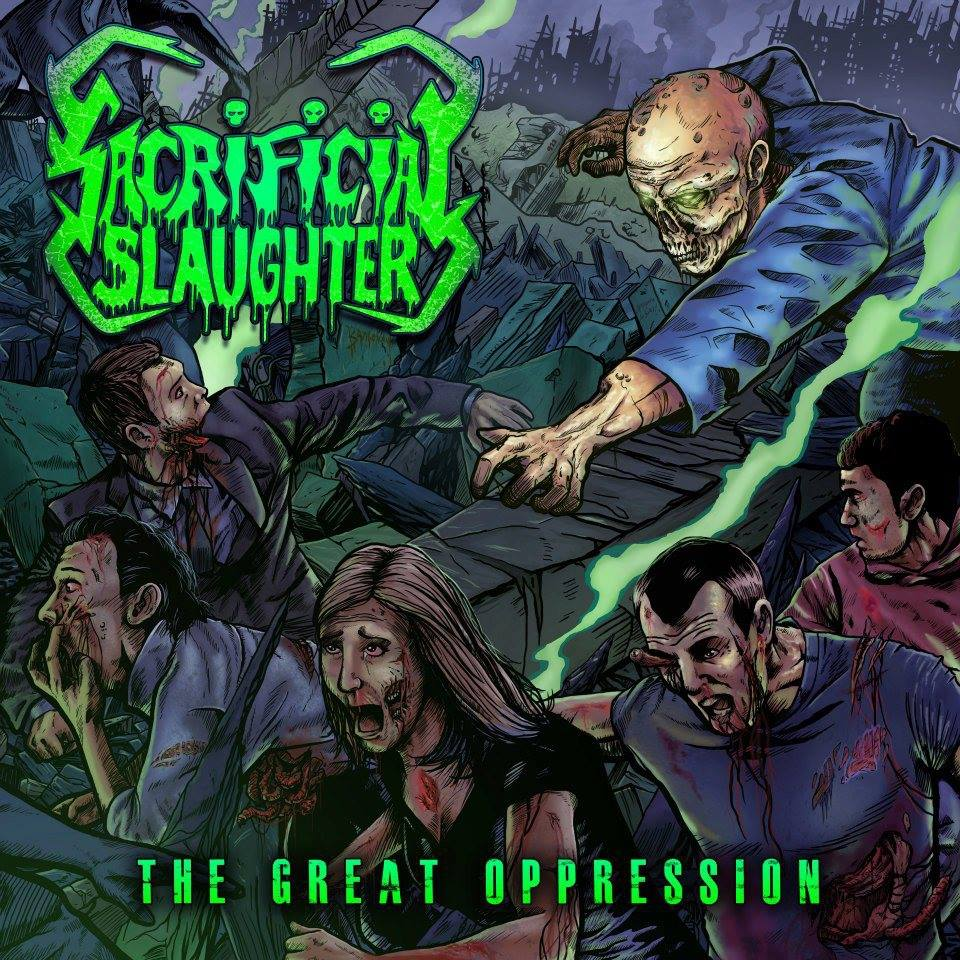 Header-TheGreatOppression-SacrificialSlaughter-AlbumArt