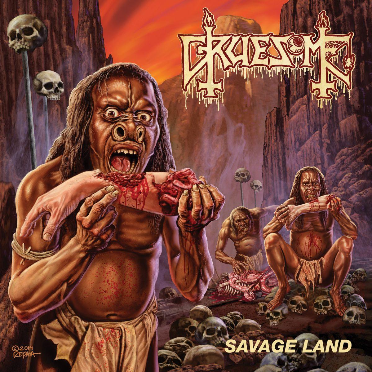 Header-SavageLand-Gruesome-AlbumArt