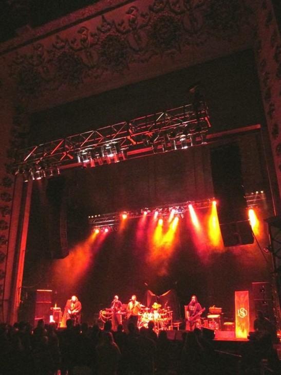 Imminent Sonic Destruction on stage at the Palladium