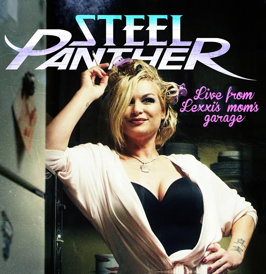 Header-LiveFromLexxisMomsGarage-SteelPanther-AlbumArt