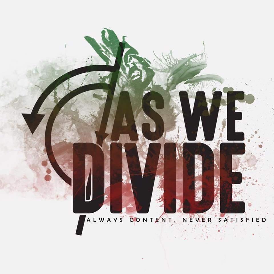 Header-AlwaysContentNeverSatisfied-AsWeDivide-AlbumArt