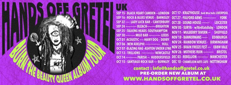 HandsOffGretel-BurnTheBeautyQueen-TourPoster-750x277