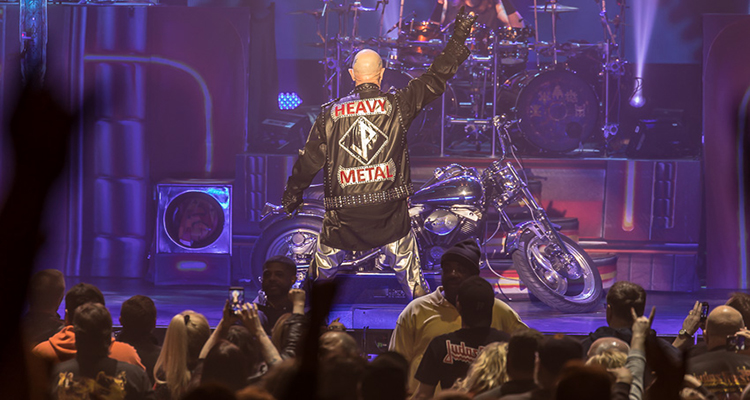 Judas Priest At The Masonic Temple In Detroit Mi