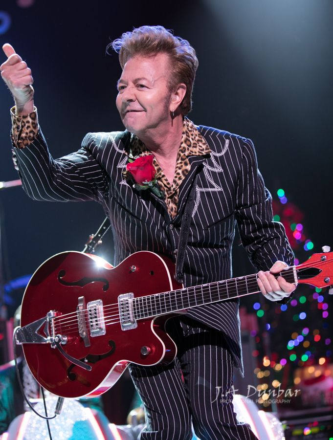 The Brian Setzer Orchestra At The Hard Rock Live In