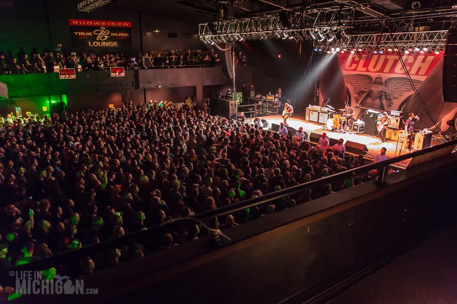Clutch In Grand Rapids Mi National Rock Review