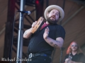 Forecastle Festival (Nathaniel Rateliff and The Night Sweats) at the Waterfront In Louisville, KY | Photo by Michael Deinlein