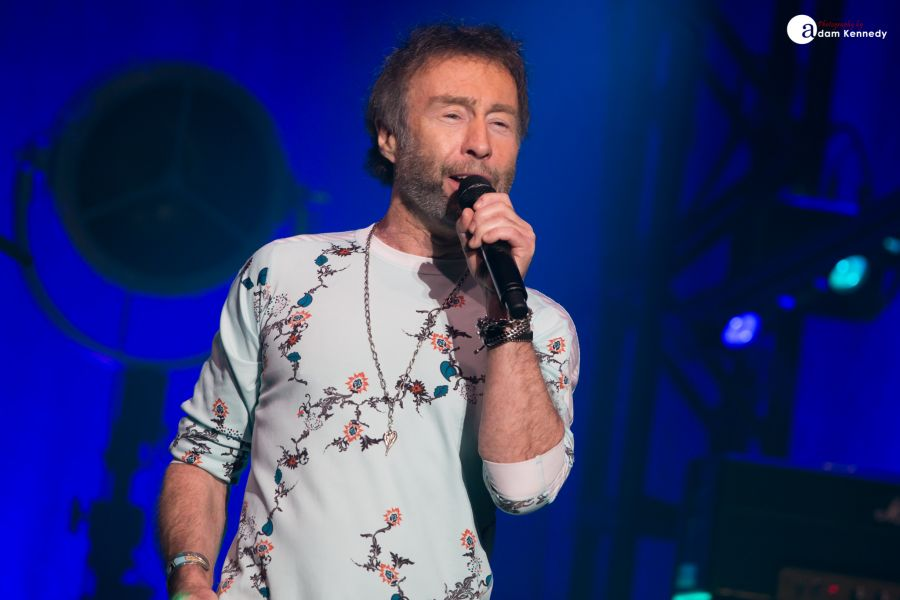 paul rodgers at the newcastle city hall in newcastle uk
