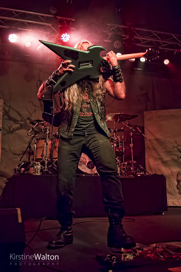 Zakk Wylde At Concord Music Hall In Chicago Il National