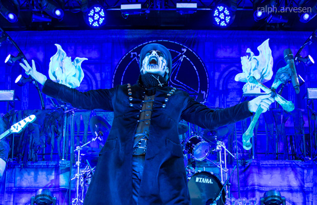 King Diamond @ Mayhem Festival in San Antonio | Photo by Ralph Arvesen