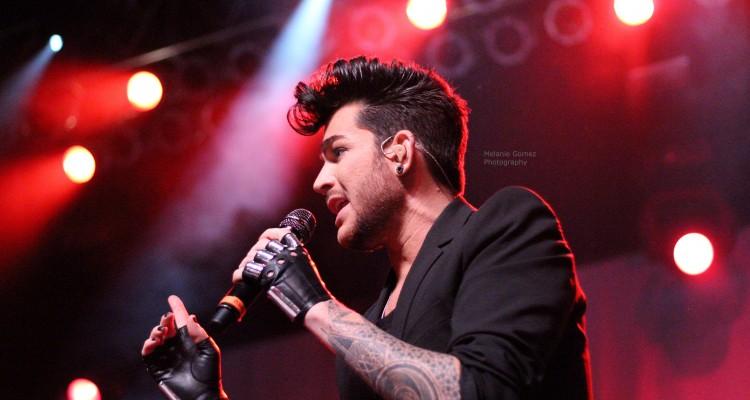 Adam Lambert @ The Theater at MSG NY - Header Photo by Melanie Gomez